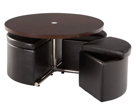 Circle Coffee Tables Coffee Table With Seats Underneath Roy Home Design