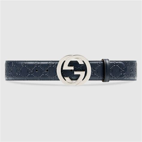 Guci Leather gucci signature leather belt gucci s casual