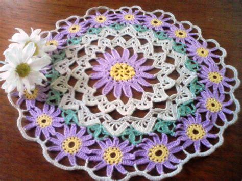 imagenes de flores tejidas a gancho solo esquemas y dise 241 os de crochet carpeta con flores