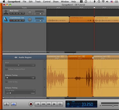 Garageband Undo Delete Garageband Basic Editing Berkeley Advanced Media Institute