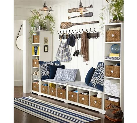 pottery barn entryway bench samantha bench antique white pottery barn