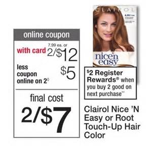 clairol hair color coupons clairol n easy only 2 50 coupon mamacita