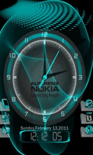 wallpaper 3d clock download 3d clock live wallpaper for android by matchstick