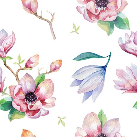 lush blooms floral watercolour collection books watercolor magnolia bunting free printable a creative mess