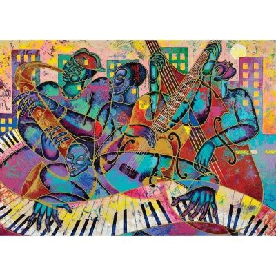 puzzle modern jazz art puzzle   pieces jigsaw