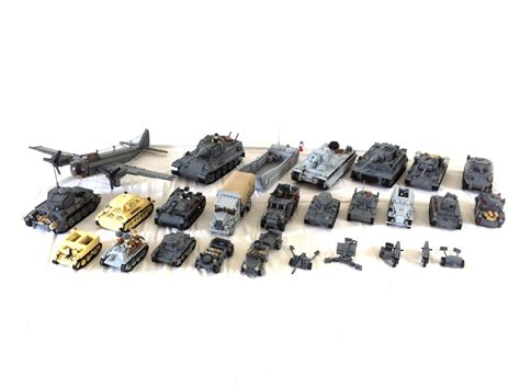 Set 4in1 2 Model all of my world war 2 lego models