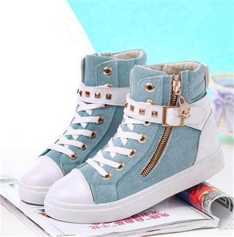 korean shoes korean students zipper canvas shoes 183 fashion kawaii