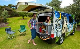 Car Hire New Zealand Cervan Escape Cer Hire Cervan Rentals Travellers Autobarn