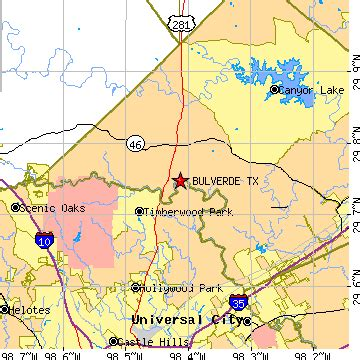 map of bulverde texas bulverde texas tx population data races housing economy