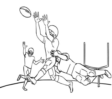 nfl football coloring pages  printable