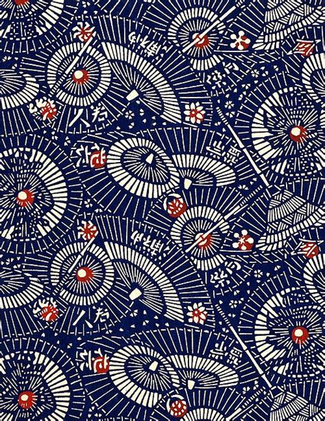 umbrella pattern fabric blue umbrellas umbrellas pinterest japanese fabric