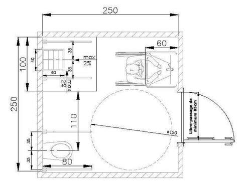 Baignoire Pour Handicapé by Taille Toilette Handicap Dimension Toilette Suspendu