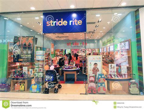 kid shoe stores stride rite shop in hong kong editorial image image