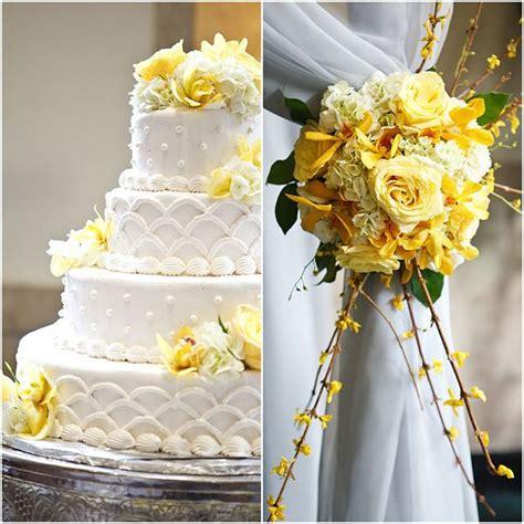 citrus yellow and grey wedding theme