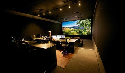 color suite anatomy of a grading suite design