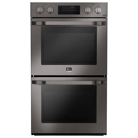 lg 30 wall oven lwd3081 house appliances home kitchen for lg studio 30 in double electric wall oven self cleaning