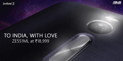 Asus Zenfone2 4 32 By Dyda asus zenfone 2 with 4gb ram available for rs 18 999