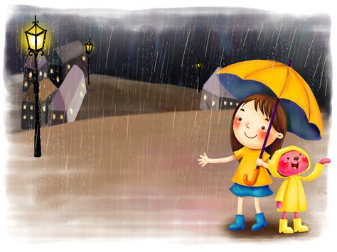cute rain hd wallpaper rainy day wallpapers children day wallpapers pictures