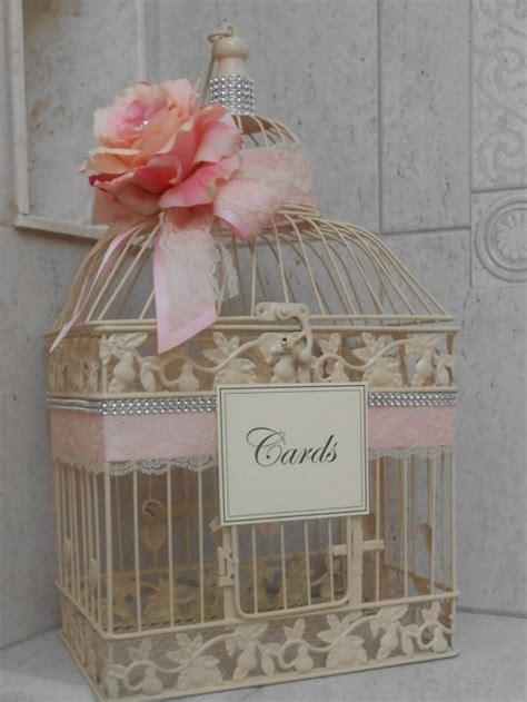 birdcage wedding card ivory wedding birdcage