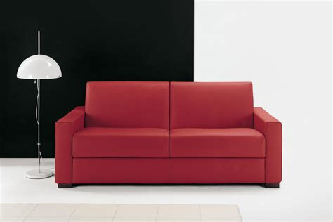 divano letto in pelle divano letto in pelle nera cooper