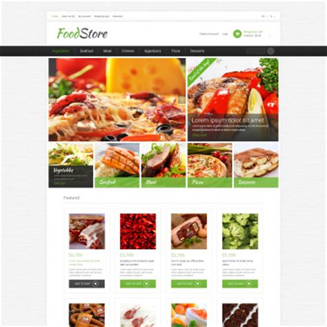 bootstrap templates for grocery grocery store bootstrap themes templatemonster