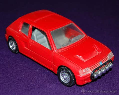 peugeot spain coche mira peugeot 205 turbo 16 rojo escala comprar