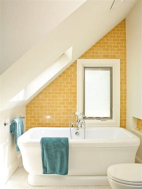bathroom slope 15 attics turned into breathtaking bathrooms best of