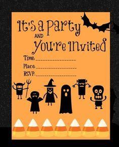 printable birthday invitations halloween theme 1000 images about free halloween printables on pinterest