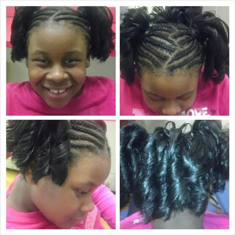 african american spiral curl hairstyles you can never go wrong with braids and spiral curl