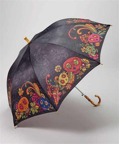skull pattern umbrella karma black sugar skull umbrella skulls sugar skull and