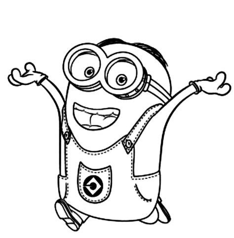 minions coloring pages birthday free printable despicable me coloring pages for kids
