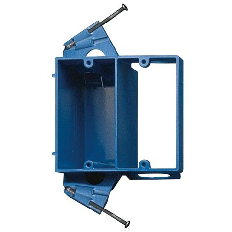 low voltage box exterior wall shop carlon 2 blue plastic interior new work standard