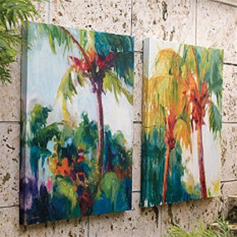 Outdoor Tropical Wall