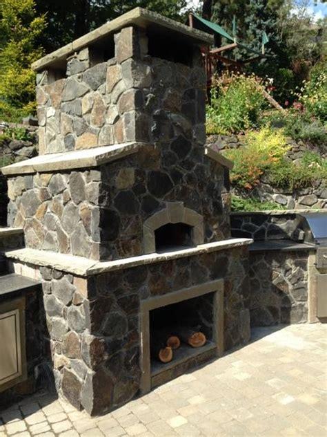 Veneer Outdoor Fireplace by Basalt Thin Veneer Inc 509 926 3854