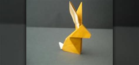 How To Make A Origami Rabbit - how to fold an origami rabbit 171 origami wonderhowto
