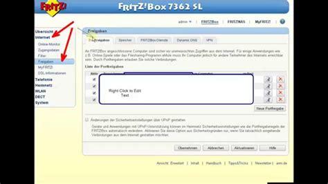 dyndns forwarding fritzbox portfreigabe forwarding dyndns teil 1