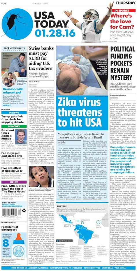 newspaper usa today usa newspapers in usa thursday s