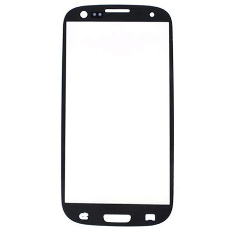 Touchscreen Samsung Ch front glas f 252 r samsung galaxy s3 weiss display