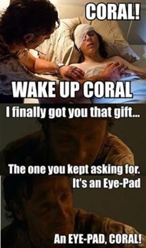 Coral Meme - coral the walking dead know your meme