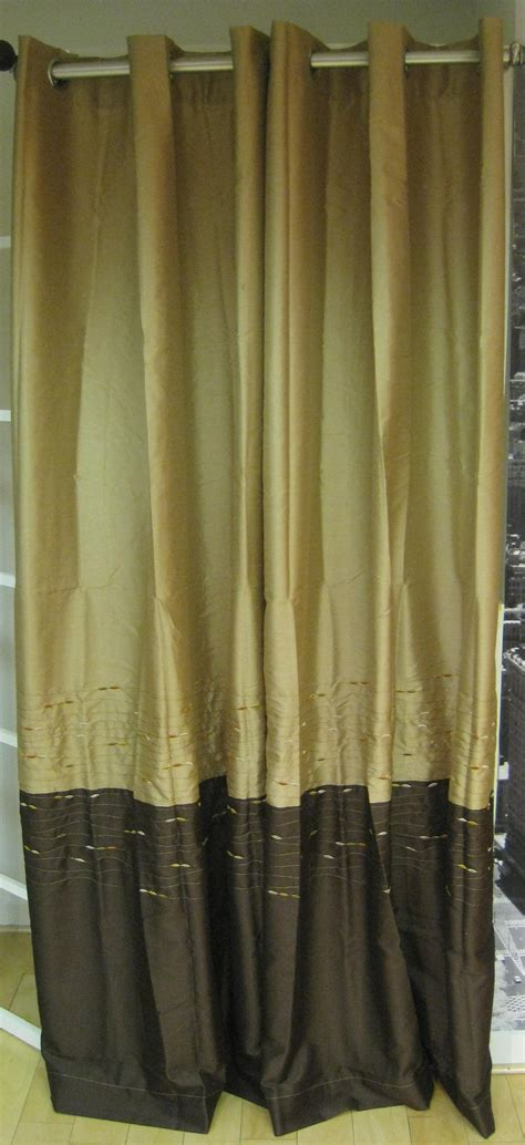 ways to hang curtains horizon embroidery grommet inch curtain panel idolza