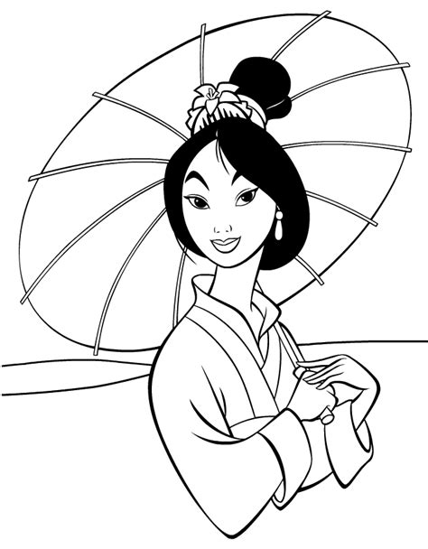 mulan coloring pages learn to coloring