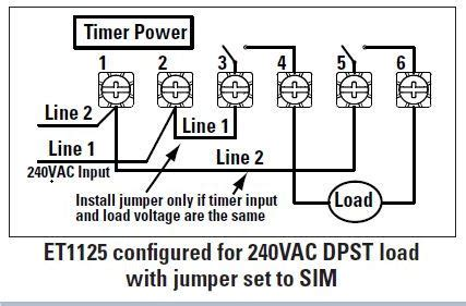 i am replacing a mechanical intermatic timer with an electronic