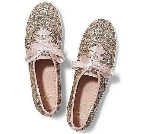 Kate Spade Keds Glitter Sneakers Gold bridal alternatives to heels keds x kate spade make