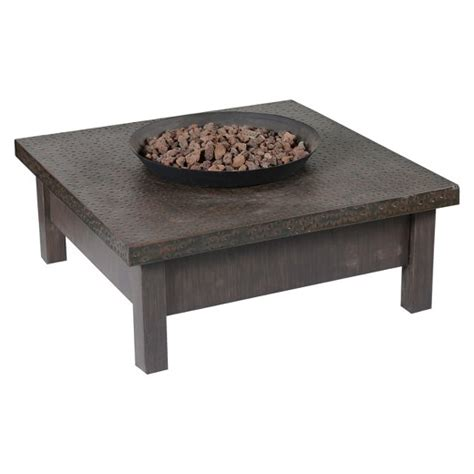 target pit table larkspur 18 quot propane pit table external tank target