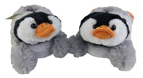penguin slippers slipper dunlop plush penguin novelty slippers slip