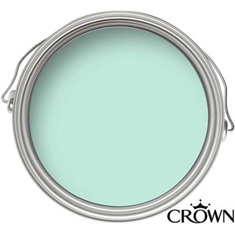 crown kitchen and bathroom cool aqua mid sheen