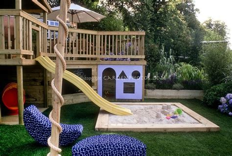 child friendly backyard slide coming off the porch kid friendly backyard pinterest