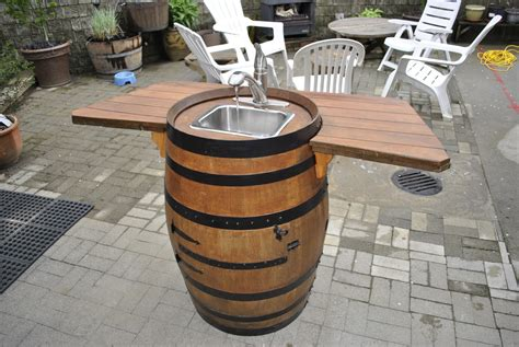 how to make a sink how to make a wine barrel sink raymondo