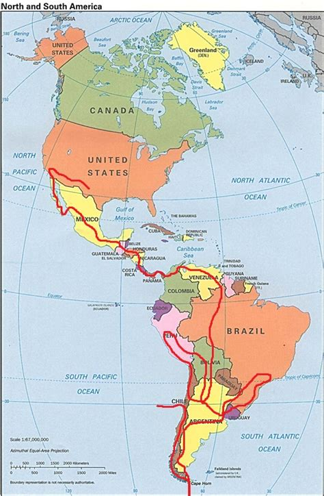 map of usa and south america map of us and south america my