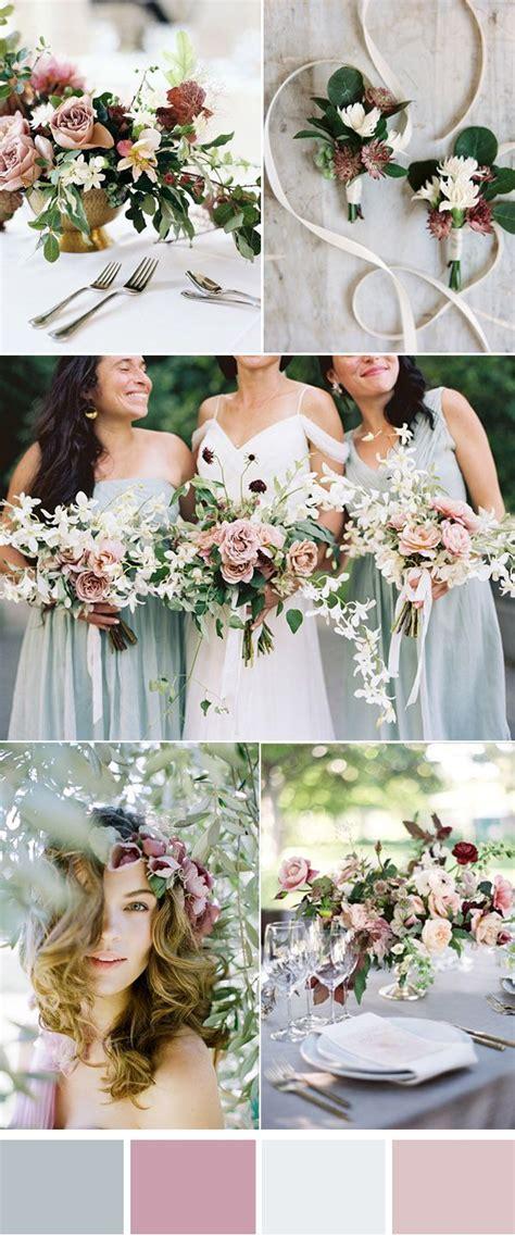 romantic color schemes de 10 b 228 sta id 233 erna om wedding color schemes p 229 pinterest